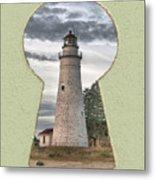 Fort Gratiot Lighthouse Metal Print