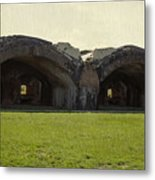 Fort Pickens Arches Metal Print