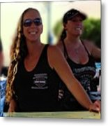 Fort Pierce Bike Night Metal Print
