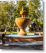 Fountain At Tlaquepaque Metal Print