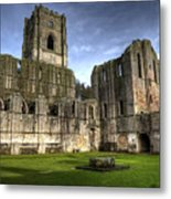 Fountains Abbey 6 Metal Print