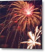 Fourth Of July Fireworks  Metal Print