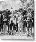 Francisco Pancho Villa Metal Print