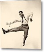 Fred Astaire In Daddy Long Legs 1955 Metal Print
