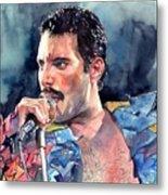 Freddie Mercury portrait Metal Print