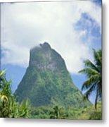 French Polynesia Moorea Metal Print