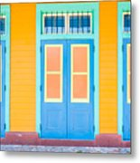 French Quarter Metal Print
