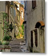 French Scenes Metal Print