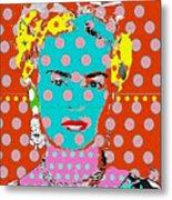 Frida Metal Print by Ricky Sencion