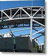 Frisco Bridge Metal Print
