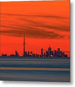 From Across The Lake Metal Print