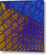 Frosted Links Metal Print