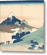 Fuji From Inume Pass Metal Print