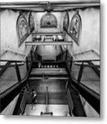 Fulton Street Subway Metal Print