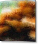 Fungus Tendrils Metal Print by Ron Bissett