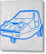 Funny Car Metal Print