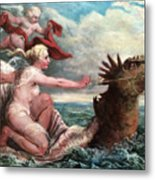 Galatea In Egress Metal Print