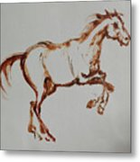 Galloping Horse Metal Print