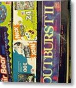 Game Shelf II Metal Print