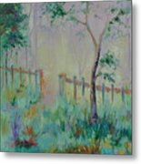 Garden And Beyond Metal Print