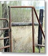 Gate 005 Metal Print