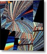 Geometric Abstract 1 Metal Print