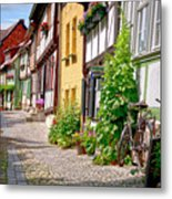 German Old Village Quedlinburg Metal Print