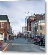 Ghost Of Lexington Metal Print