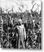 Giant Corn Man Metal Print by Gerhardt Isringhaus