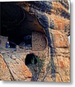Gila Cliff Dwellings National Monument Metal Print