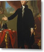 Gilbert Stuart - George Washington 1796 Metal Print
