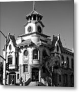 Gilroy's Old City Hall Metal Print