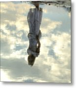 Girl And The Sky Metal Print by Joana Kruse
