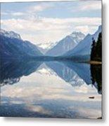 Glacier Reflections Metal Print