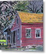 Glenbrook Carriage House Metal Print