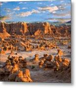 Goblin Valley State Park Utah Metal Print
