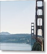 Golden Gate Bridge Metal Print