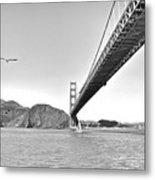 Golden Gate Bridge Metal Print by John Scharle