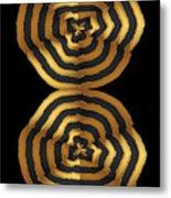 Golden Waves Hightide Natures Abstract Colorful Signature Navinjoshi Fineartartamerica Pixels Metal Print