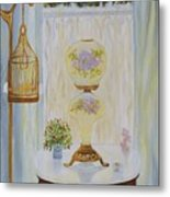 Gone With The Wind Lamp Metal Print