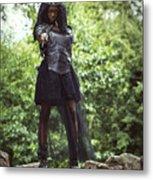 Got Warrior Princess Metal Print