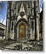 Gotic Church Metal Print