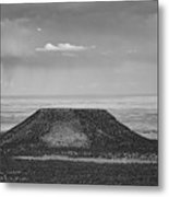 Grand Canyon Black And White  Metal Print