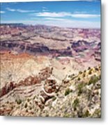 Grand Canyon View From The South Rim, Arizona Metal Print