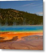 Grand Prismatic Pool IIi Metal Print