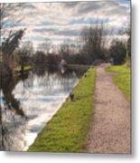 Grand Union Canal Rickmansworth Metal Print