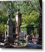 Graveyard In Charleston Metal Print