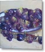 Greek Figs Metal Print