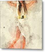 Greek Goddess  Metal Print