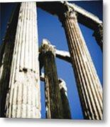Greek Pillars Metal Print